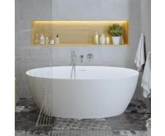 PREMIUM 200 Freistehende Oval-Badewanne Länge: 170, Breite: 82, Höhe: 58 cm PR1235