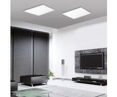 Paul Neuhaus Q-Flag CCT LED Deckenleuchte mit Dimmer, quadratisch, 4012248282434