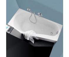 Geberit Renova Compact Raumspar-Badewanne L: 160 B: 75 H: 42 cm, Raumecke links weiß 657260000