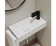 Steinberg Serie 160 Waschtisch-Einhebelmischbatterie ohne Ablaufgarnitur, schwarz matt 160 1010 S