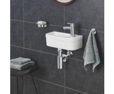 Grohe Euro Keramik Handwaschbecken B: 36,9 T: 17,9 cm weiß, mit PureGuard Hygieneoberfläche 3932700H