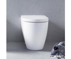 Duravit ME by Starck Stand-Tiefspül-WC back to wall L: 60 B: 37 H: 40 cm weiß, mit WonderGliss 21690900001