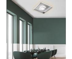 FISCHER & HONSEL Bug LED Deckenleuchte mit Dimmer, quadratisch, 4001133206389