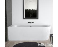 Tellkamp Pio R Raumspar-Badewanne mit Verkleidung L: 178 B: 78 H: 60 cm, Raumecke links weiß glanz, Schürze weiß glanz, ohne Füllfunktion 0100-077-00-R-A/CR