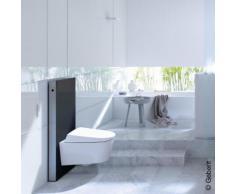Geberit Monolith Sanitärmodul für Wand-WC H: 101 cm, Glas schwarz 131022SJ5