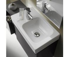 Geberit iCon Handwaschbecken B: 53 T: 31 cm, Becken rechts weiß, mit KeraTect 124153600