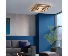 FISCHER & HONSEL Bug LED Deckenleuchte mit Dimmer, quadratisch, 4001133206426