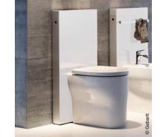 Geberit Monolith Sanitärmodul für Stand-WC H: 101 cm, Glas weiß 131003SI5