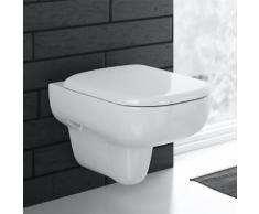 Geberit Smyle Wand-Tiefspül-WC L: 54 B: 35 cm ohne Spülrand, weiß, mit KeraTect 500210018