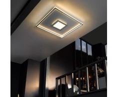 FISCHER & HONSEL Bug LED Deckenleuchte mit Dimmer, quadratisch, 4001133206402