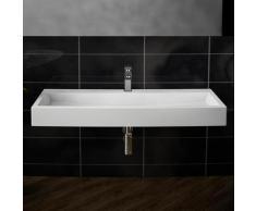 Treos Serie 710 Waschtisch B: 100 T: 42 cm mit 1 Hahnloch 710.04.1004