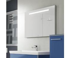 Villeroy & Boch More To See One Spiegel B: 130 H: 60 T: 3 cm mit LED-Beleuchtung A430A200, EEK: A+