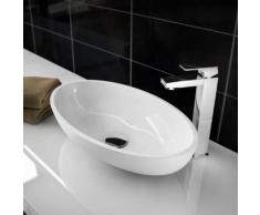 Treos Serie 710 Aufsatzwaschtisch B: 51 H: 12,7 T: 30 cm weiß 710.04.5130