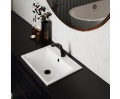Steinberg Serie 260 Waschtisch-Einhebelmischbatterie schwarz matt, mit Zugstangen-Ablaufgarnitur 260 1000 1 S