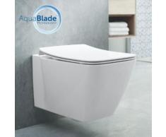 Ideal Standard Strada II Wand-Tiefspül-WC AquaBlade L: 54 B: 36 cm weiß, mit Ideal Plus T2997MA