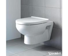 Duravit DuraStyle Basic Wand-Tiefspül-WC L: 54 B: 36 cm, rimless, mit WC-Sitz weiß 45620900A1