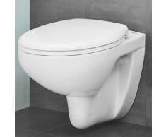 Grohe Bau Keramik Wand-Tiefspül-WC Set L: 53,1 B: 36,8 cm, weiß, mit WC-Sitz 39351000