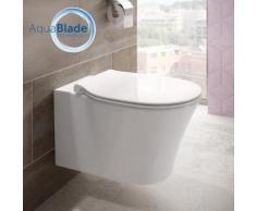 Ideal Standard Connect Air Wand-Tiefspül-WC, AquaBlade L: 54 B: 36 cm weiß, mit Ideal Plus E0054MA