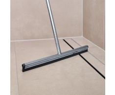 Blomus LAVEA Bodenwischer mit Wandhalterung B: 360 H: 1220 T: 20 mm edelstahl poliert/schwarz 68990