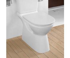 Villeroy & Boch ViCare Stand-Tiefspül-WC für Kombination L: 71 B: 36 H: 46 cm, offener Spülrand weiß, mit CeramicPlus 4620R0R1