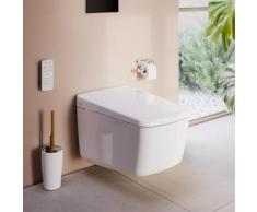 VitrA V-Care Prime Wand-Dusch-WC L: 62 B: 39 cm, mit WC-Sitz 7231B403-6216