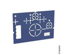 Geberit Bohrschablone für Wand-WC und Geberit AquaClean 111747001