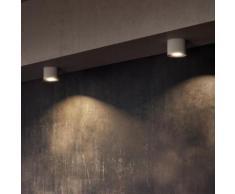 PHILIPS myLiving Phase LED Deckenleuchte/Spot Ø 10,2 H: 8 cm, weiß/aluminium 533003116, EEK: A+