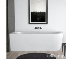 Tellkamp Pio R Eck-Badewanne mit Verkleidung L: 178 B: 78 H: 60 cm, Raumecke links weiß glanz, Schürze weiß glanz, ohne Füllfunktion 0100-277-00-R-A/WG
