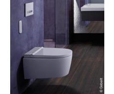 Geberit AquaClean Sela Wand-Dusch-WC Komplettanlage L: 56,5 B: 37,5 cm, mit WC-Sitz weiß 146220111, EEK: A+