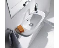 Duravit D-Code Handwaschbecken B: 50 T: 22 cm weiß, mit Hahnloch rechts 0706500008