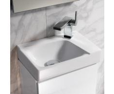 Geberit Xeno² Handwaschbecken, Becken links weiß, mit KeraTect 500529011