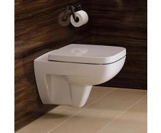 Geberit Renova Compact Wand-Tiefspül-WC L: 48,5 B: 35 cm, Ausführung kurz weiß 206145000