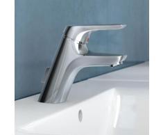 Ideal Standard CeraMix Blue Einhebel-Waschtischarmatur mit flexiblen Anschlussschläuchen mit Ablaufgarnitur A5646AA