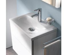 Keuco Royal Reflex Mineralguss-Handwaschbecken B: 50 T: 35 cm mit 1 Hahnloch 34091315001