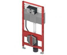 TECE profil Wand-WC-Modul mit TECE-Spülkasten, Betätigung von vorne, Bauhöhe 112 cm 9300300