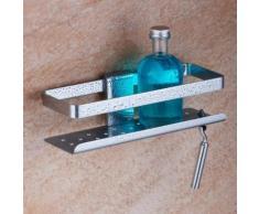 Giese Newport Duschkorb mit Aussparung für Rasierer, 4005379127804