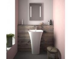 Treos Serie 730 Mineralguss Design Stand-Waschtisch 730.04.5145