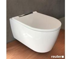 Geberit ONE Wand-Tiefspül-WC mit WC-Sitz L: 54 B: 37 cm chrom, mit KeraTect 500202011