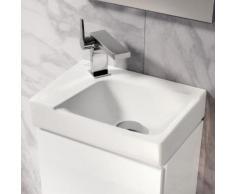 Geberit Xeno² Handwaschbecken, Becken rechts weiß, mit KeraTect 500528011