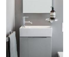 Kartell by Laufen Handwaschbecken B: 46 T: 28 cm, mit verdecktem Ablauf weiß, mit Clean Coat und 1 Hahnloch H8153354001111