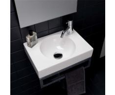 Geberit Preciosa II Handwaschbecken B: 40 T: 28 cm weiß, mit KeraTect 273240600