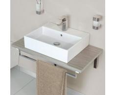 Ideal Standard Strada Waschtisch B: 60 T: 42 cm weiß, mit 1 Hahnloch K077801