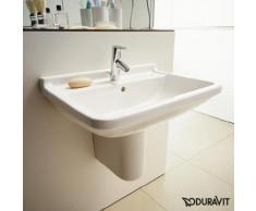 Duravit Starck 3 Waschtisch B: 60 T: 45 cm weiß, mit WonderGliss, mit 1 Hahnloch 03006000001