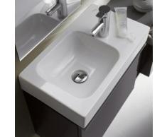 Geberit iCon Handwaschbecken B: 53 T: 31 cm, Becken links weiß, mit KeraTect 124053600