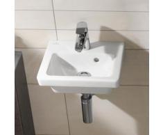 Villeroy & Boch Subway 2.0 Handwaschbecken B: 37 T: 30,5 cm weiß mit CeramicPlus, ungeschliffen 731737R1