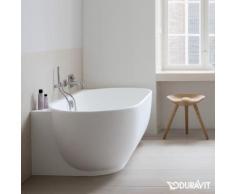 Duravit Luv Raumspar-Badewanne mit Verkleidung L: 185 B: 95 H: 46 cm, Raumecke rechts ohne Wannenrandbohrung 700432000000000