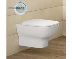 Ideal Standard Connect E Wand-Tiefspül-WC L: 54,5 B: 36,5 cm, AquaBlade, mit WC-Sitz weiß T366701