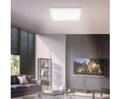 Paul Neuhaus Frameless LED Deckenleuchte mit Dimmer und CCT, quadratisch, 4012248335260