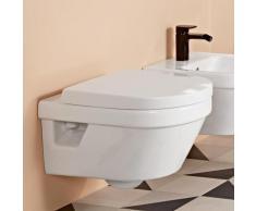 Villeroy & Boch Architectura Wand-Tiefspül-WC L:53 B:37cm ohne Spülrand, weiß, mit CeramicPlus 5684R0R1