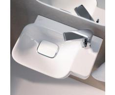 Geberit myDay Handwaschbecken B: 40 T: 28 cm, Becken links weiß, mit KeraTect 125540600